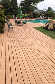 Deck Washing Staining