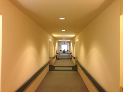 Assisted Living Hallway Painting MD