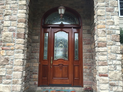 exterior door staining md