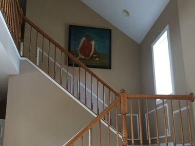 hall stair painting maryland