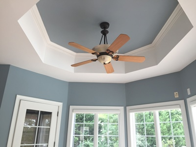 ceiling trimwork painting maryland