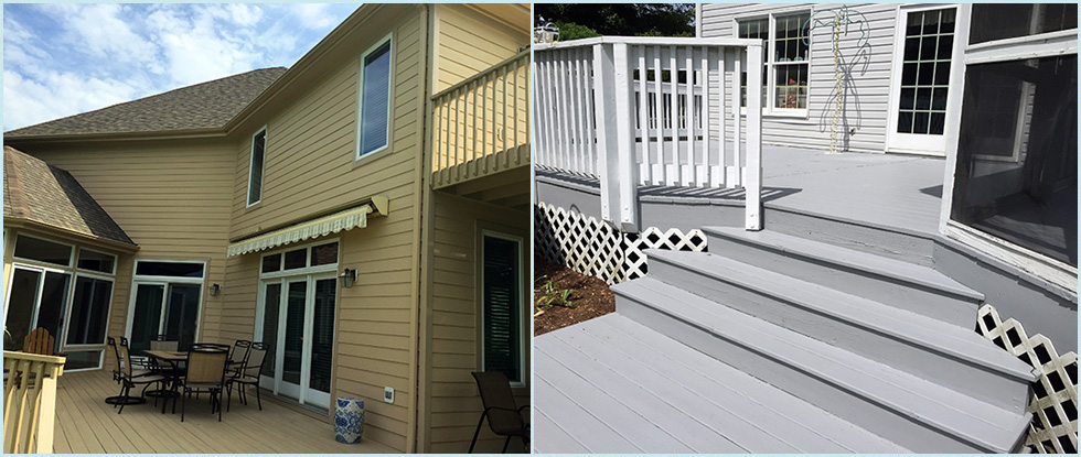 Exterior Home Painting & Deck Painting